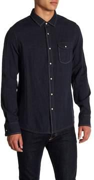 Jeremiah Chase Melange Button Reversible Regular Fit Shirt