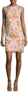 Donna Ricco Women's Floral Embroidery Dress