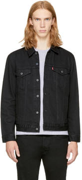 Levi's Levis Black Denim The Trucker Jacket