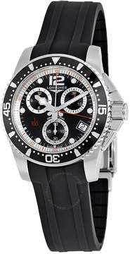 Longines HydroConquest Chronograph Black Dial Men's Watch
