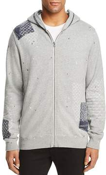Scotch & Soda Worked-Out Patch Zip Hoodie