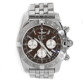 Breitling Chronomat 44 GMT AB042011/Q589 Stainless Steel Watch