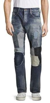 PRPS Baboon Patchwork Jeans