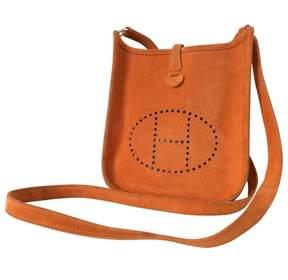 Hermes Orange Leather Handbag Evelyne - ORANGE - STYLE