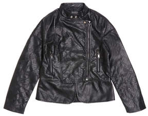 GUESS Quilted Faux-Leather Jacket (7-16)
