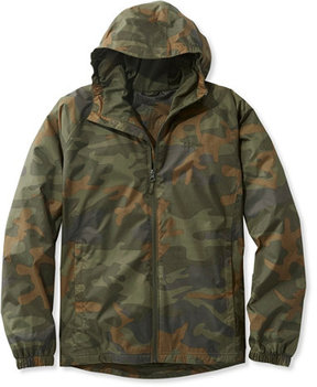 L.L. Bean Discovery Rain Jacket, Camouflage