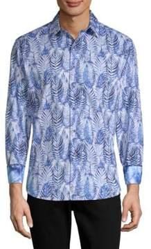 Robert Graham Ewing Printed Cotton Button-Down Shirt