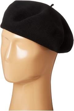 Scala Wool Basque Beret Caps