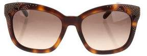 Chloé Studded Tortoiseshell Sunglasses
