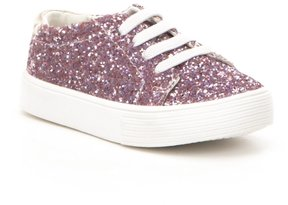 Kenneth Cole Reaction Girls' Kam Glitter Lace Up Sneakers