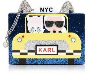 Karl Lagerfeld Nyc Taxi Minaudiere Clutch