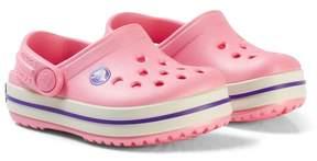 Crocs Pink and Purple Crocband Clogs
