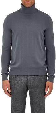 Boglioli Men's Brushed Wool Turtleneck Sweater