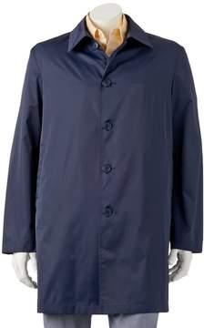 Chaps Men's Packable Travel Rain Coat