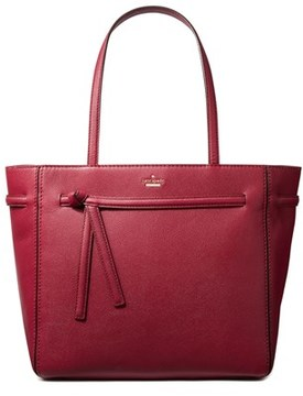 Kate Spade Bell Lane Romie Leather Shoulder Bag. - RED - STYLE