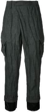 A.F.Vandevorst pocket cropped trousers