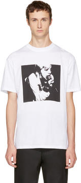 McQ White Usual-Usual T-Shirt