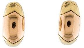 Bvlgari Two-Tone Clip-On Earrings