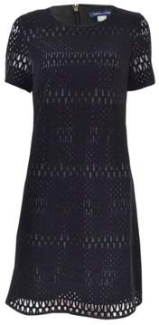 Tommy Hilfiger Women's Velvet Lace A-Line Dress