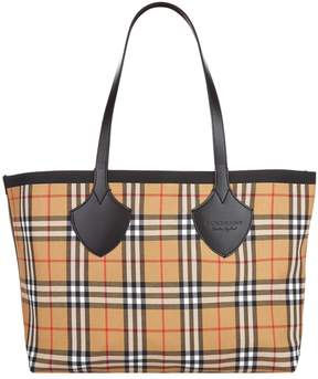 Burberry Medium Giant Plastic Vintage Check Tote