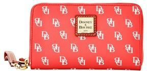 Dooney & Bourke Gretta Zip Around Phone Wristlet - RED WHITE - STYLE