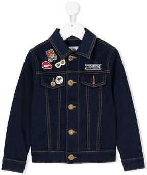 Moschino Kids chic design jacket classic