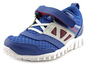 Reebok Real Flex Speed 3.0 Toddler Round Toe Synthetic Blue Running Shoe.