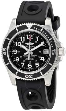 Breitling Superocean II 36 Black Dial Watch A17312C9/BD91BKORT
