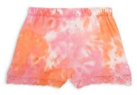 Design History Girl's Tie Dye Shorts