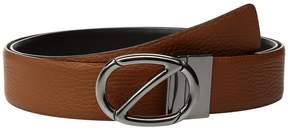 Z Zegna Free Size Calfskin Belt BCUIM8 Men's Belts