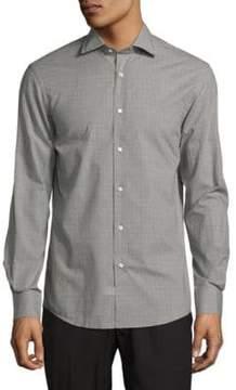 Ralph Lauren Purple Label Aston Long Fit Button-Down Shirt