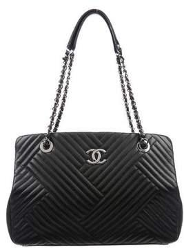 Chanel CC Crossing Shopper Tote