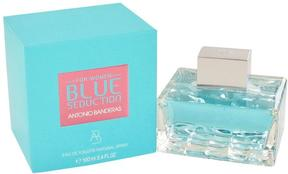 Blue Seduction by Antonio Banderas Eau De Toilette Spray for Women (3.4 oz)
