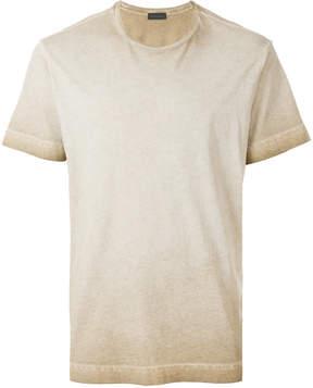 Diesel Black Gold crew neck ombré T-shirt