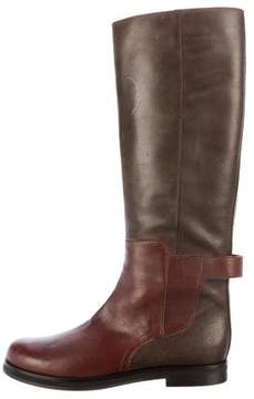 MM6 MAISON MARGIELA MM6 by Maison Martin Margiela Leather Riding Boots