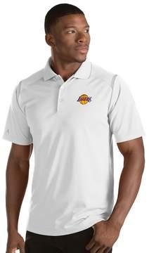 Antigua Men's Los Angeles Lakers Merit Polo