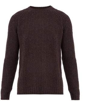 Saturdays NYC Miguel waffle-knit sweater