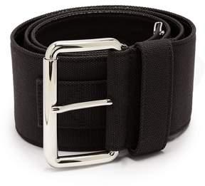 Miu Miu Wide canvas belt