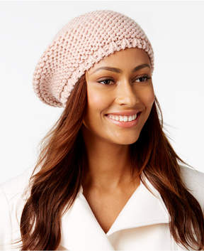 INC International Concepts Shine Stitch Beret, Created for Macy's