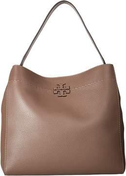 Tory Burch McGraw Hobo Hobo Handbags - BLACK - STYLE