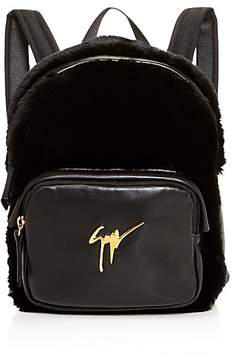 Giuseppe Zanotti Faux-Fur Backpack - 100% Exclusive