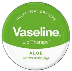 Vaseline Lip Therapy Aloe Vera Lip Balm Tin 0.6 oz