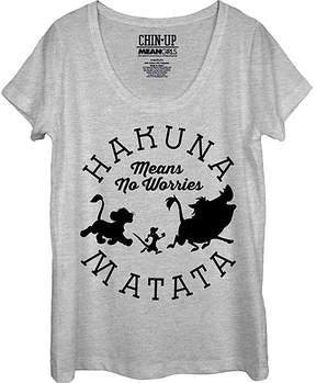 Fifth Sun The Lion King 'Hakuna Matata' Scoop Neck Tee - Women