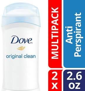 Dove Antiperspirant Deodorant Original Clean, Twin Pack