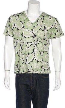 Dries Van Noten Floral Print T-Shirt w/ Tags