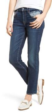 7 For All Mankind Roxanne Pieced Pocket Ankle Skinny Jeans