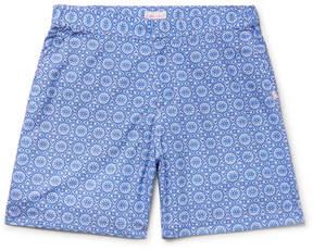 Derek Rose Tropez 1 Mid-Length Printed Swim Shorts