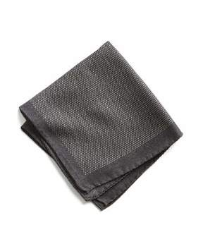 Todd Snyder Italian Wool Mini Square Pocket Square