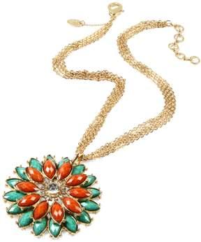 Amrita Singh Women's Della Femina Two-tone Pendant Necklace