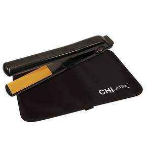 Chi Air Pro Expert Classic Tourmaline Ceramic Flat Iron 1 inch Onyx Black